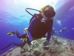 scuba person